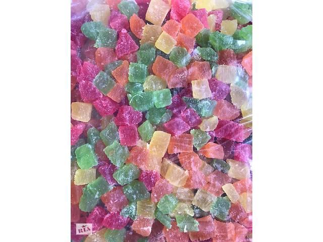Ананас цукаты кубики микс (Таиланд)- объявление о продаже  в Городенке