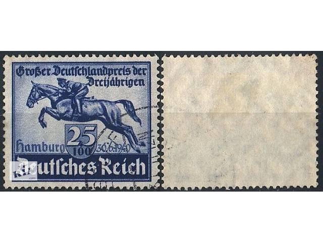 продам 1940 - Рейх - Скачки в Гамбурге Mi.746 бу в Ровно