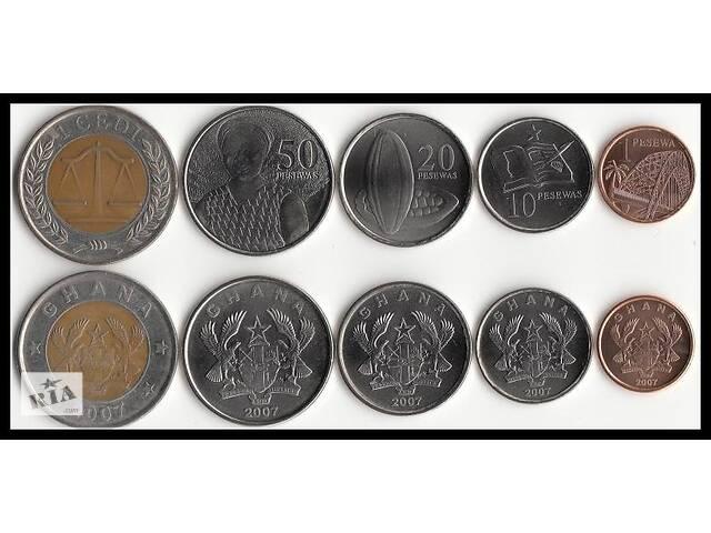 купить бу Набір монет Гани UNC в Харкові