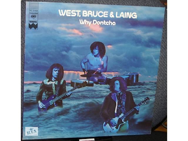 """бу West, Bruce & Laing   """"Why Dontcha"""" - 1972 - LP. в Киеве"""