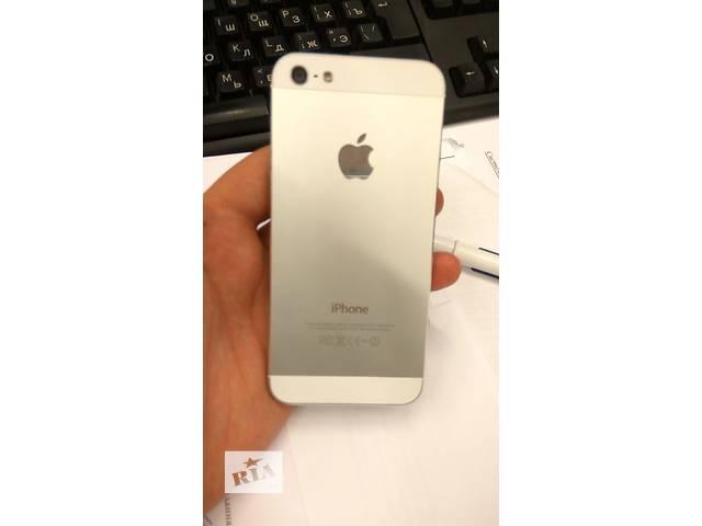 бу Apple iphone 5 white 16гб neverlock в Киеве