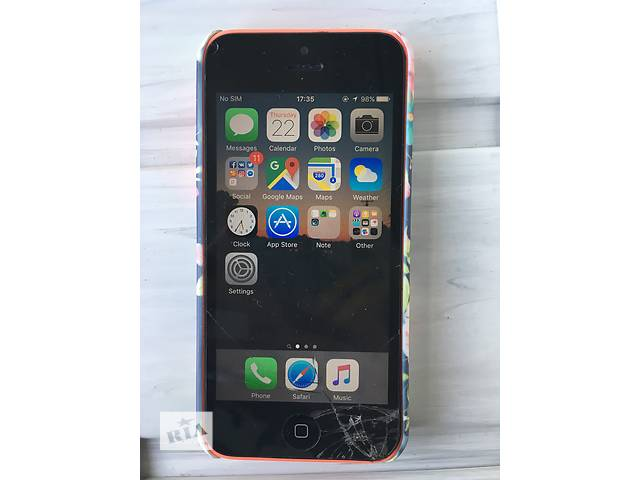 купить бу Apple iPhone 5c 16Gb Pink в Львове