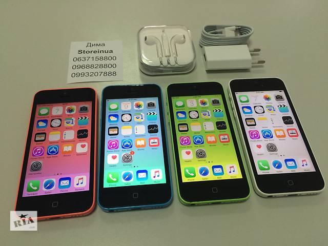 Apple iPhone 5C Neverlock Space Gray. От магазина с гарантией- объявление о продаже  в Киеве