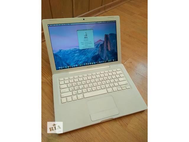 продам Apple MacBook white SSD 128gb. C2d 2.16 4gb бу в Харькове