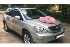 Аренда авто на свадьбу и перевозки по городу с водителем Lexus RX 300