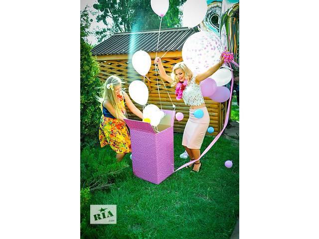 Арки, Гирлянды из воздушных шаров. Шары с гелием- объявление о продаже  в Виннице