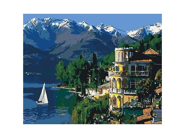 """продам Картина за номерами. Міський пейзаж """"Надихаюча Італія"""" 40*50см KHO3511 бу в Одесі"""