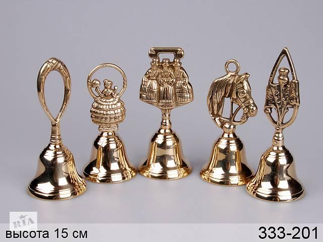 Комплект колокольчиков из 5 штук Stilars 15 см 333-201- объявление о продаже  в Дубні