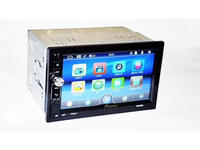 продам 2din Магнитола Pioneer 7043 USB, BT, SD пульт на руль бу в Днепре (Днепропетровск)