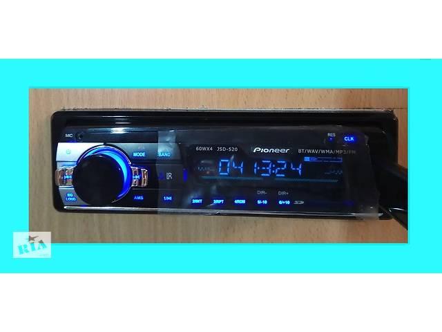 Автомагнитола Pioneer JSD 520 Блютуз, ЮСБ, АУХ - объявление о продаже  в Киеве