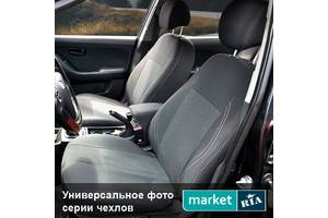 Чехлы на сиденья Skoda Octavia 2004-2013 из Автоткани (Союз-Авто)