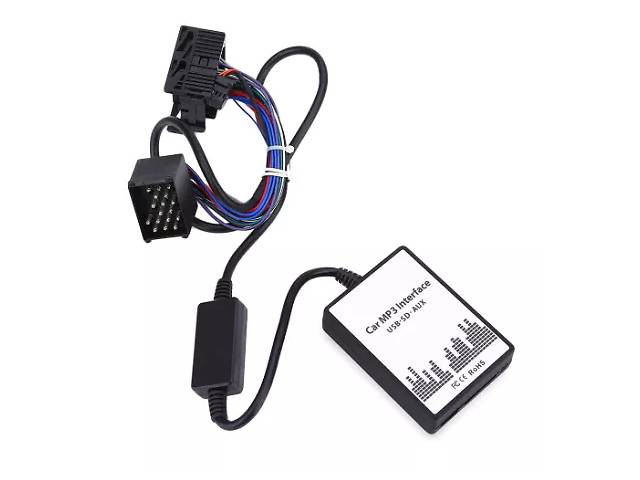 бу USB MP3 AUX адаптер для БМВ штатної магнітоли BMW 3, 5, 7, X3, X5, M3 в Переяславі-Хмельницькому