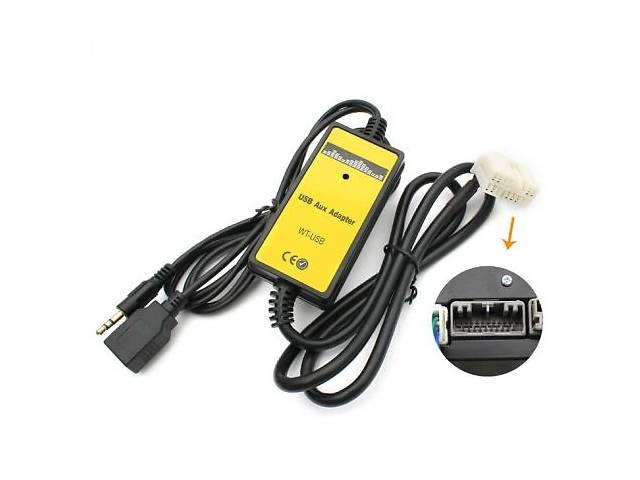 бу USB MP3 AUX Адаптер для штатних магнітол Honda Хонда Civic, Accord, Pilot, CRV Acura Акура TSX, MDX в Переяславі-Хмельницькому
