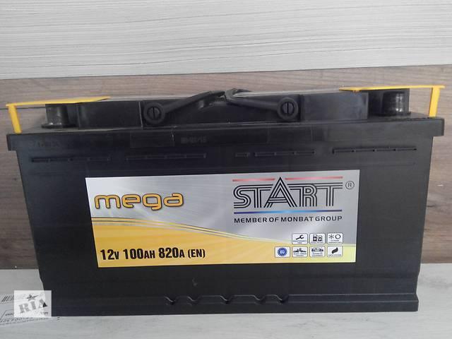 Автомобильный аккумулятор Mega Start 100Ah R+ 820A- объявление о продаже  в Киеве