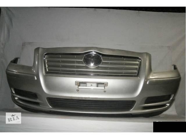 Б/у бампер передний для хэтчбека Toyota авенсис 2005год- объявление о продаже  в Одессе