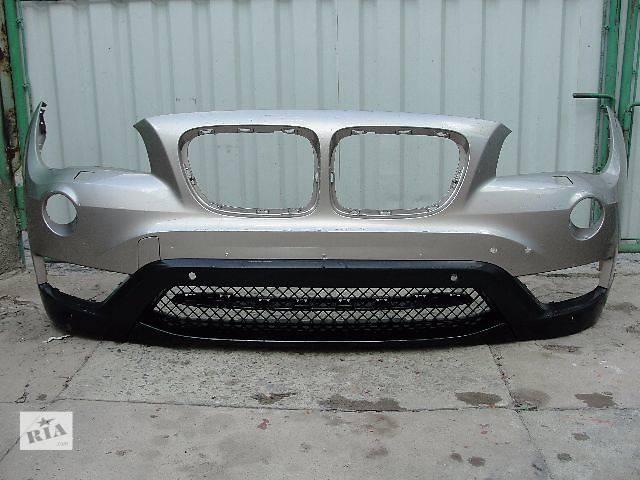 купить бу Б/у бампер передний для легкового авто bmw x1 рестал дешево в наличии!!! в Львове