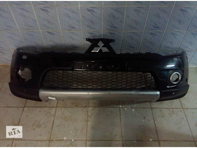 бу Б/у бампер передний для легкового авто Mitsubishi Pajero Sport 2010-2014 в Львове