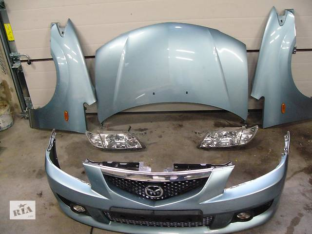 купить бу Б/у Бампер передний Mazda 6 2002-2008 в Киеве