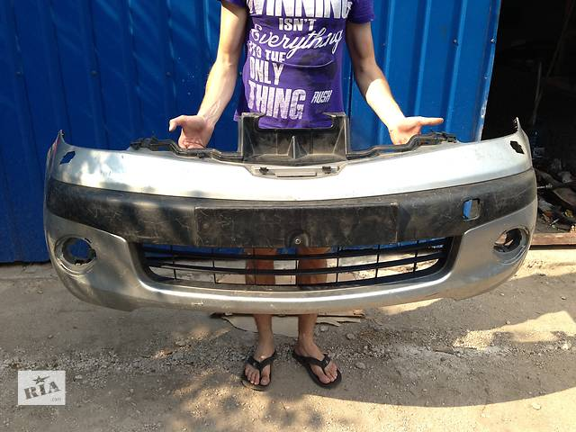 купить бу Б/у Бампер передний Nissan Note в Киеве