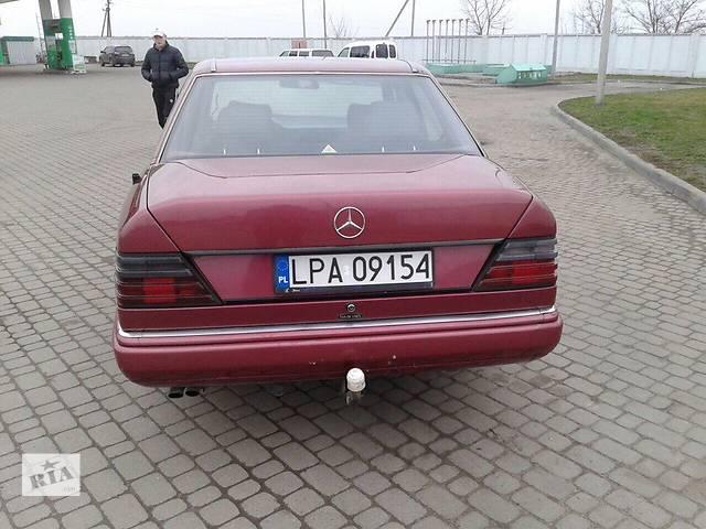 бу Б/у бампер задний для легкового авто Mercedes 124 в Львове