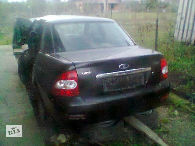 продам Б/у бампер задний для легкового авто ВАЗ Приора бу в Ивано-Франковске