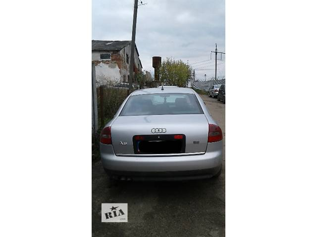 Б/у бампер задний для седана Audi A6- объявление о продаже  в Львове