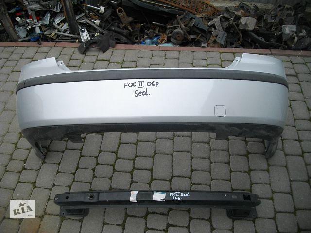 бу Б/у бампер задний для седана Ford Focus 2006 в Львове