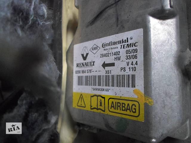 купить бу Б/у Блок управления AirBag Renault Kangoo Кенго 1,5 DCI К9К 2008-2012 в Рожище