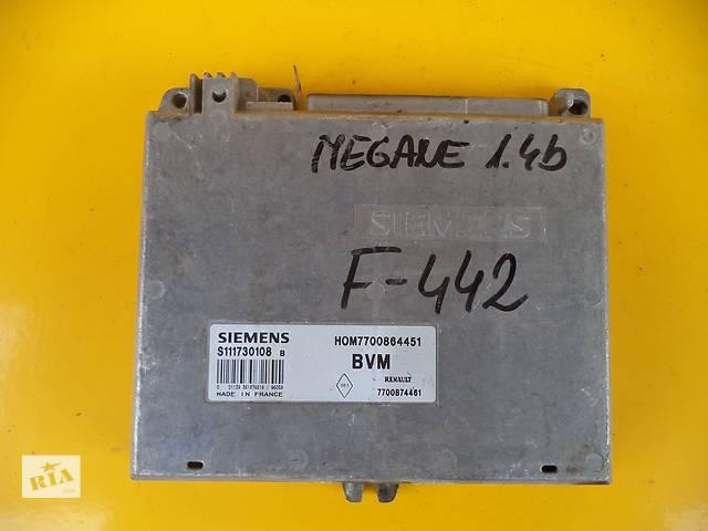 Б/у блок управления двигателем для легкового авто Renault Megane (1,4)(95-02)- объявление о продаже  в Луцке