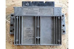 б/у Блоки управления двигателем Peugeot 206