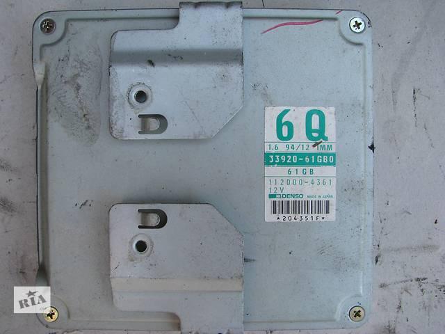 бу Б/у блок управления двигателем Suzuki Baleno 1.6i 16V G16B 1995-2002, 33920-61GB0, DENSO 112000-4351 в Броварах
