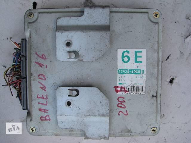 купить бу Б/у блок управления двигателем Suzuki Baleno 1.6 1995 в Броварах