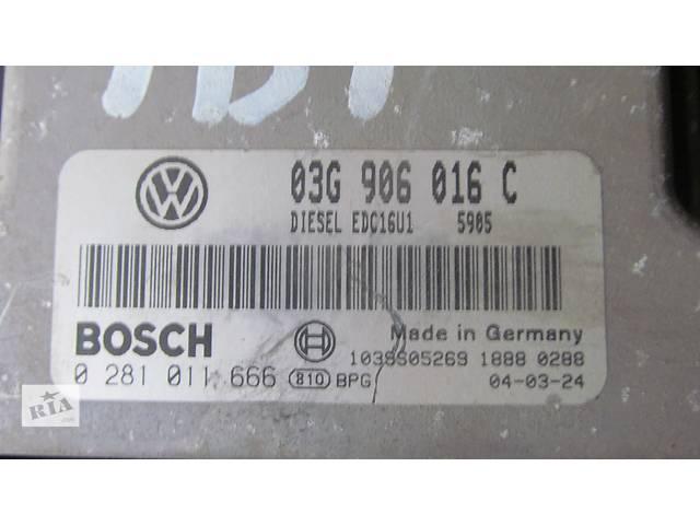 купить бу Б/у бортовой компьютер для легкового авто Volkswagen Caddy в Яворове (Львовской обл.)