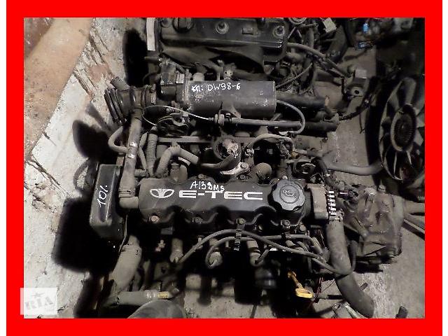 купить бу Б/у Двигатель Daewoo Nexia 1,3 бензин 8V A13SMS в Стрые