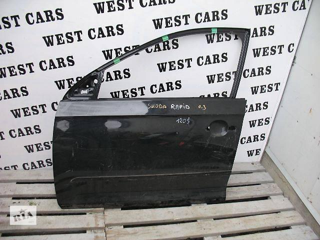 продам Б/у дверь передняя для легкового авто Skoda Rapid бу в Луцке