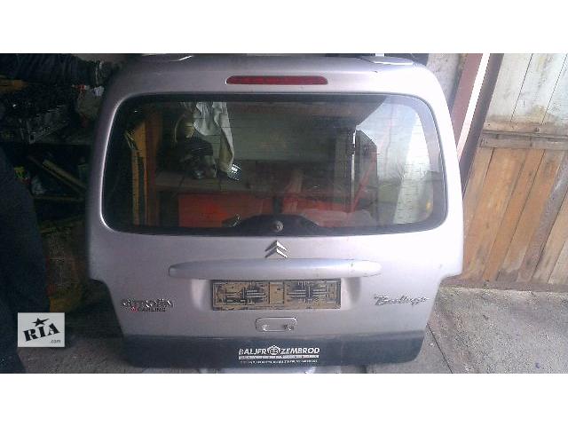 купить бу Б/у дверь задняя для легкового авто Citroen Berlingo 2005 в Ивано-Франковске
