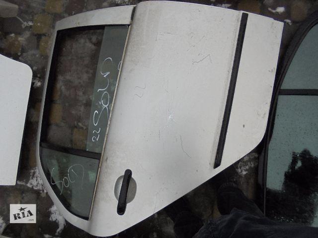 бу Б/у дверь задняя для легкового авто Skoda Fabia 2005 в Львове
