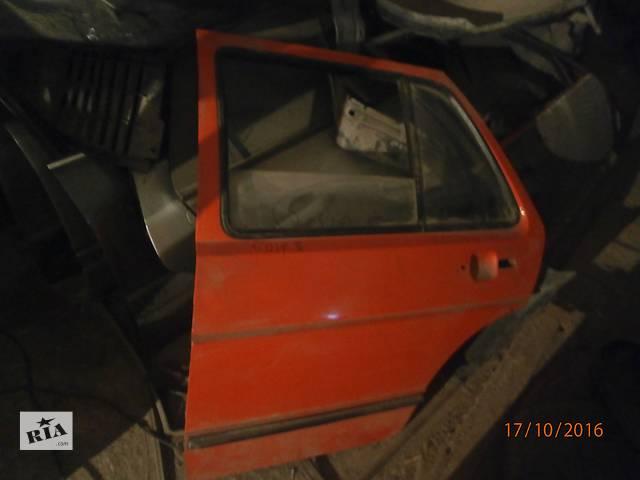 купить бу Б/у ліві задні двері для седана Volkswagen Golf II в Львове