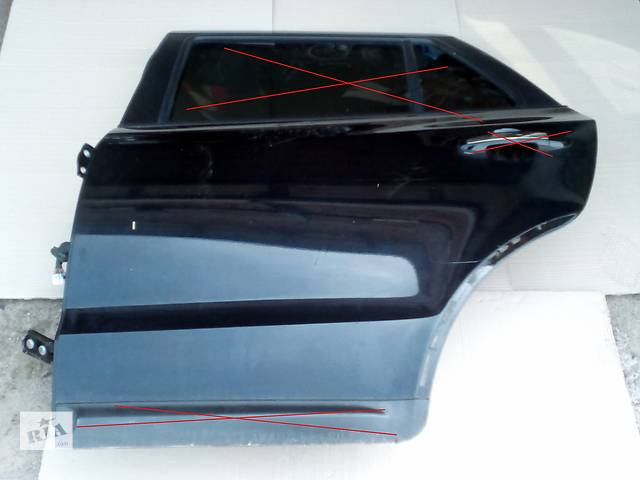Б/у двері задні ліві 77003-2B020 для легкового авто Hyundai Santa FE (Хюндай Санта фе)- объявление о продаже  в Ровно