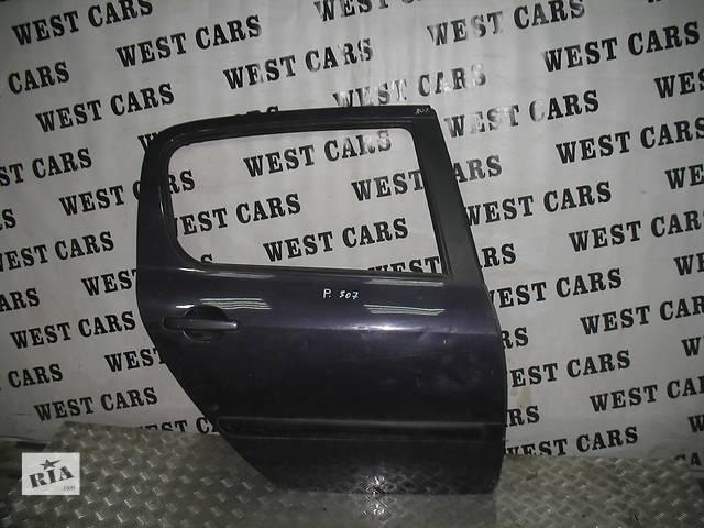 купить бу б/у Двери/багажник и компоненты Дверь задняя Легковой Peugeot 307 в Луцке