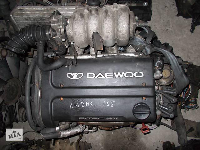 продам Б/у Двигатель Chevrolet Lanos 1.6 бензин 16V № A16DMS бу в Стрые