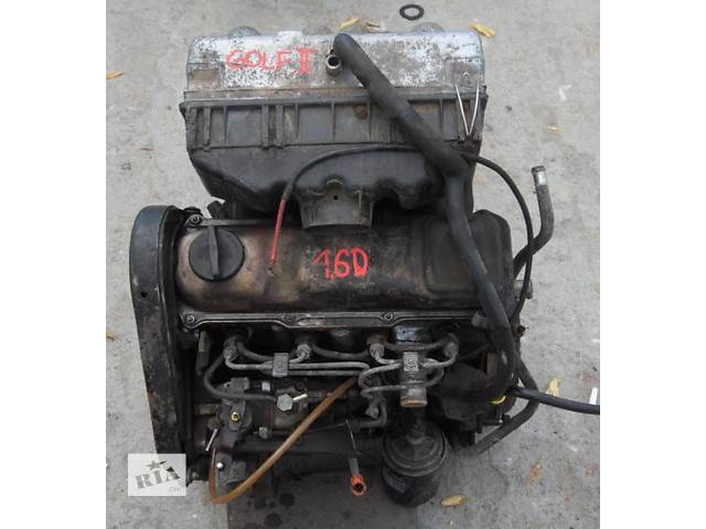 Б/у двигатель для легкового авто Volkswagen Golf II 1,6д- объявление о продаже  в Луцке