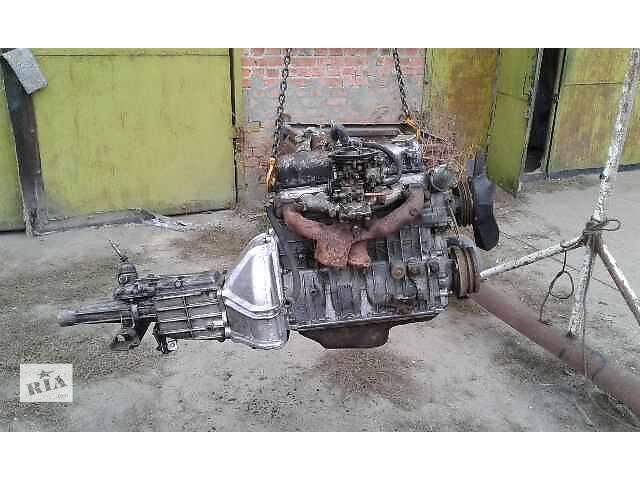 продам Б/у двигатель для седана ГАЗ 31029 первой комплектации с коробкой под газ-бензин бу в Ракитном (Киевской обл.)