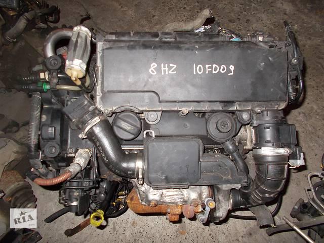 купить бу Б/у Двигатель Peugeot 206 1.4 hdi № 8HZ 10FD09 2001-2009 в Стрые