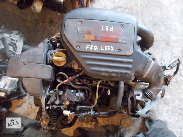продам Б/у Двигатель Renault Clio 1,9D № F8Q L 662 бу в Стрые