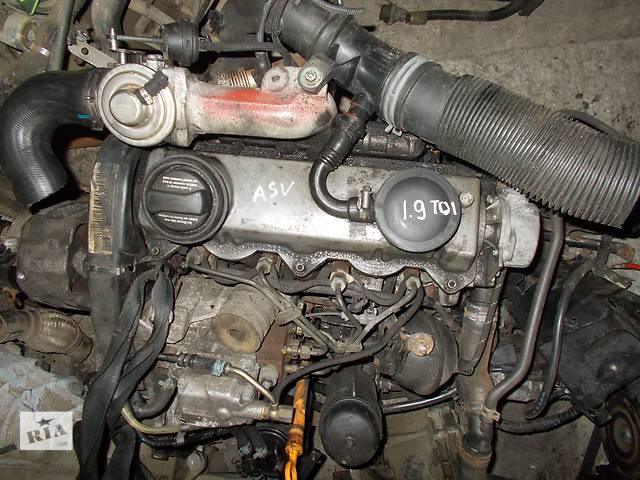 Б/у Двигатель Skoda Octavia 1.9 tdi № ASV 1997-2006- объявление о продаже  в Стрые