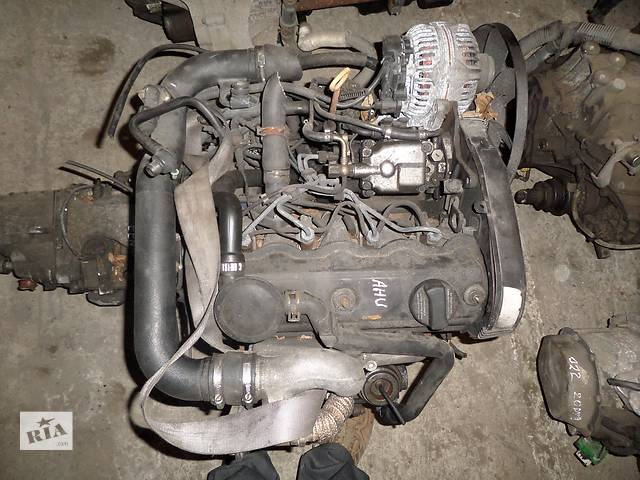 бу Б/у Двигатель Volkswagen Sharan 1,9tdi № AHU в Стрые