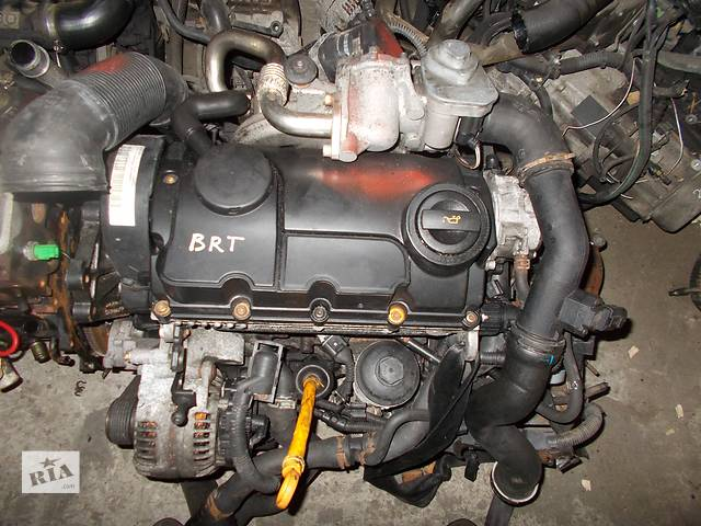 продам Б/у Двигатель Volkswagen Sharan 2,0TDI № BRT бу в Стрые