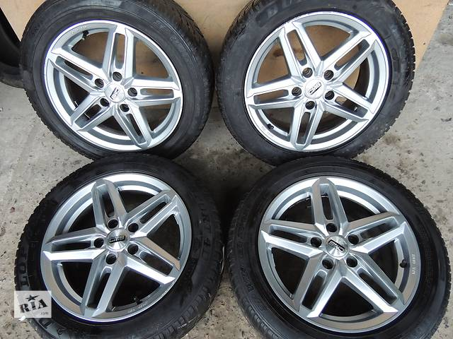продам Б/у диск CMS R16 5x112 7j et45 Audi A4 A6 VW Caddy Jetta Passat Golf Mercedes бу в Львове