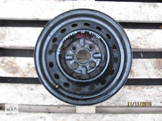 бу Б/у диск колесный Honda R14 5.5Jx14H2 4x100 в Ровно